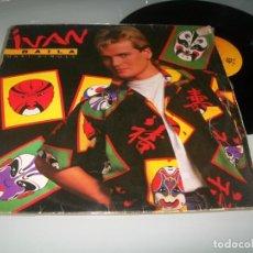 Discos de vinilo: IVAN - BAILA ..EDICION MAXISINGLE - EXTENDED VERSION ORIGINAL DE 1985 SINTONIA VUELTA CICLISTA. Lote 236131800