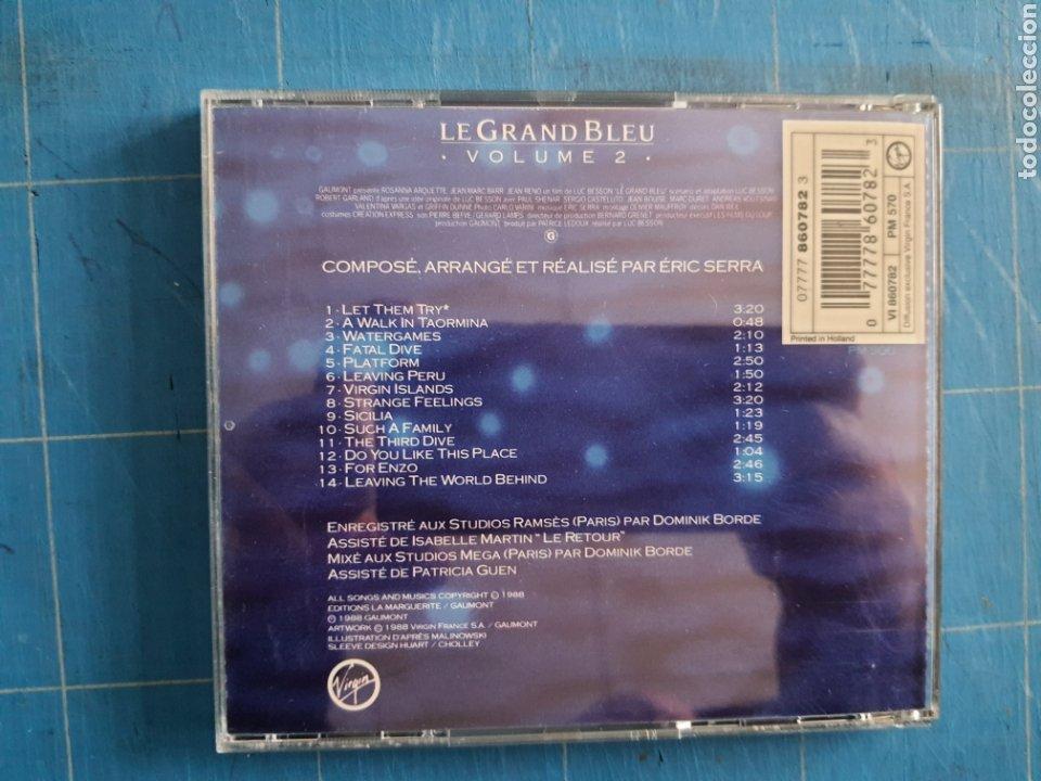 Discos de vinilo: Eric Serra - Le Grand Bleu: Volume 2 (Bande Originale Du Film De Luc Besson) (CD, Album) - Foto 2 - 236099860