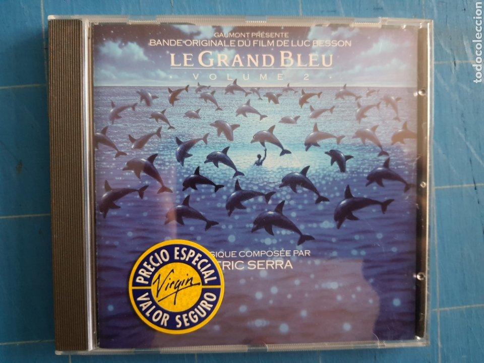 ERIC SERRA - LE GRAND BLEU: VOLUME 2 (BANDE ORIGINALE DU FILM DE LUC BESSON) (CD, ALBUM) (Música - Discos de Vinilo - EPs - Bandas Sonoras y Actores)