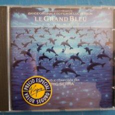 Discos de vinilo: ERIC SERRA - LE GRAND BLEU: VOLUME 2 (BANDE ORIGINALE DU FILM DE LUC BESSON) (CD, ALBUM). Lote 236099860