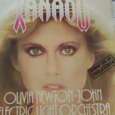 Discos de vinilo: XANADU. OLIVIA NEWTON-JOHN. BANSA SONORA ORIGINAL DE LA PELÍCULA.NÚMERO UNO EN INGLATERRA.. Lote 236133350