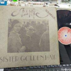 Dischi in vinile: SPANIC MAXI SISTER GOLDEN HAIR REMIX ESPAÑA 1994 ESCUCHADO. Lote 236134400
