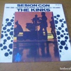Discos de vinilo: EP : THE KINKS / LOUI LOUI + 3 ED SPAIN 1965 EX. Lote 236152600
