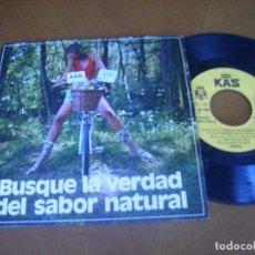 Discos de vinilo: CREMA BUSQUE LA VERDAD DEL SABOR NATURAL +3 / KAS BCD 1972- MUY RARO EP. Lote 236153770