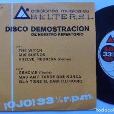 Discos de vinilo: ALBERT BAND - EP SPAIN PS - MINT * PROMO * ELLA TIENE EL CABELLO RUBIO + 5. Lote 236157400