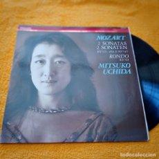 Discos de vinilo: DISCO LP MUTSUKO UCHIDA MOZART 2 SONATAS. Lote 236163000
