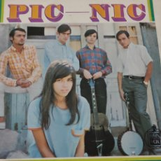 Discos de vinilo: PIC-NIC. CÁLLATE NIÑA / NEGRA ESTRELLA.. Lote 236165000