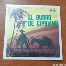 Discos de vinilo: LP JUANITO NAVARRO - EL BURRO DE CIPRIANO (VENEZUELA - DISCOS NACIONAL - 196?) TOP COPY VERY RARE!!. Lote 236165470