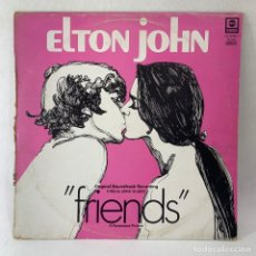 Discos de vinilo: LP - VINILO ELTON JOHN - FRIENDS - ESPAÑA - AÑO 1976. Lote 236167590