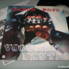 Discos de vinilo: BARÓN ROJO - VOLUMEN BRUTAL ..LP DE CHAPA ORIGINAL DE 1982 - NUEVA EDICION SONY MUSIC - NUEVO. Lote 236168080