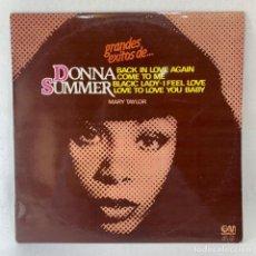 Discos de vinilo: LP - VINILO MARY TAYLOR - GRANDES ÉXITOS DE DONNA SUMMER - ESPAÑA - 1978. Lote 236169340