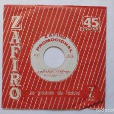 Discos de vinilo: LOS INTERNACIONALES - EP SPAIN PS - MINT * PROMO * ME CONFORMO / WATERMELON MAN / NIGHT TRAIN + 1. Lote 236172005