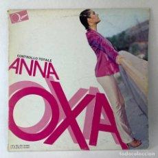 Discos de vinilo: LP - VINILO ANNA OXA - CONTROLLO TOTALE - ITALIA - AÑO 1980. Lote 236172960