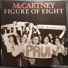 Discos de vinilo: PAUL MCCARTNEY - BEATLES - FIGURE OF EIGHT - MAXISINGLE PROMO - BRASIL - MEGA RARO - NO USO CORREOS. Lote 236179010