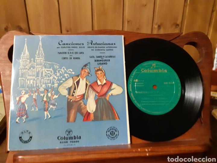 Discos de vinilo: Lote de vinilos de canción Asturiana años 50 - 60 .de ,José noriega, laudelino Alonso, José González - Foto 2 - 236181470
