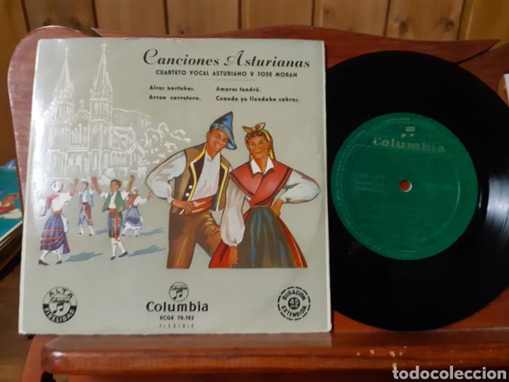 Discos de vinilo: Lote de vinilos de canción Asturiana años 50 - 60 .de ,José noriega, laudelino Alonso, José González - Foto 4 - 236181470