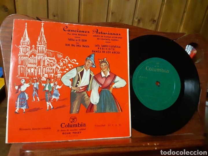 Discos de vinilo: Lote de vinilos de canción Asturiana años 50 - 60 .de ,José noriega, laudelino Alonso, José González - Foto 8 - 236181470