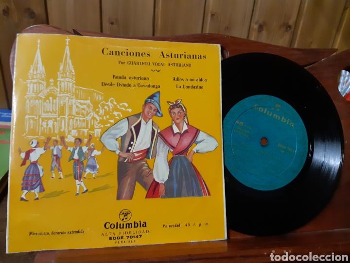 Discos de vinilo: Lote de vinilos de canción Asturiana años 50 - 60 .de ,José noriega, laudelino Alonso, José González - Foto 10 - 236181470