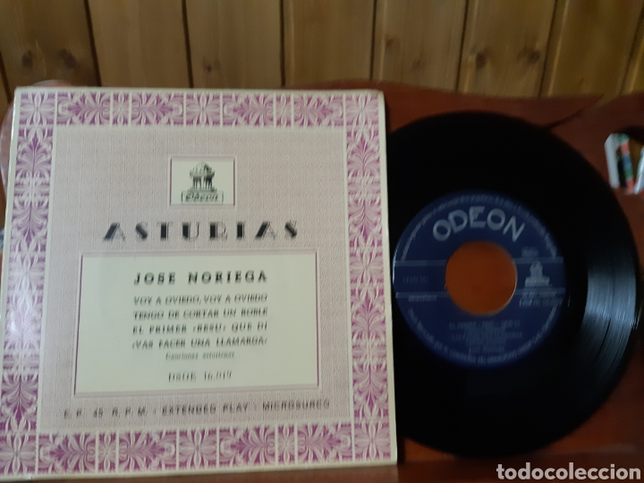 Discos de vinilo: Lote de vinilos de canción Asturiana años 50 - 60 .de ,José noriega, laudelino Alonso, José González - Foto 20 - 236181470