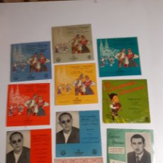 Discos de vinilo: LOTE DE VINILOS DE CANCIÓN ASTURIANA AÑOS 50 - 60 .DE ,JOSÉ NORIEGA, LAUDELINO ALONSO, JOSÉ GONZÁLEZ. Lote 236181470