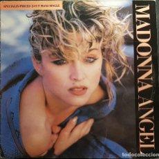 Discos de vinilo: MADONNA - ANGEL - MAXISINGLE - ESPAÑA - RARO - NO USO CORREOS. Lote 236181535