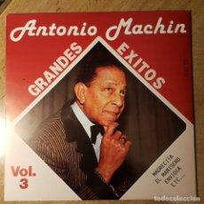 Discos de vinilo: DISCO LP ANTONIO MACHÍN. GRANDES ÉXITOS VOL. 3. Lote 236199490