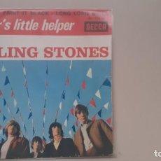 Discos de vinilo: THE ROLLING STONES EP FRANCÉS MOTHER LITLLE'S HELPER + 3. Lote 236204585