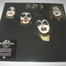 Discos de vinilo: KISS - KISS NUEVA EDICION - PRECINTADA NUEVO - CONTIENE PARA DESCARGA MP3 - MUY ESCASO. Lote 236207965