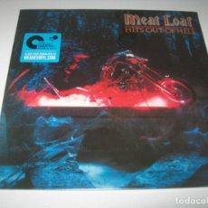 Discos de vinilo: MEAT LOAF - HITS OUT OF HELL,..LP ORIGINAL DE 1984 - NUEVA EDICION PRECINTADA LEGACY. Lote 236208960
