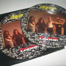 Discos de vinilo: ANTHRAX - BLACK LODGE ..LP DE VINILO - PICTURE DISC - EDICION NUMERADA. Lote 236209725