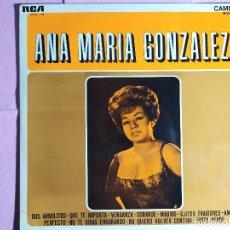 Discos de vinilo: LP ANA MARIA GONZALEZ - RCA CAMDEN CAL-115 - SPAIN PRESS (VG+/VG+). Lote 236211235
