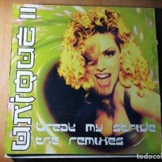 Discos de vinilo: LOTE DE 5 DISCOS VINILO. MÚSICA ELECTRONICA POP. C&C MUSIC FACTORY. VER RESTO. VER FOTOS.. Lote 236213005