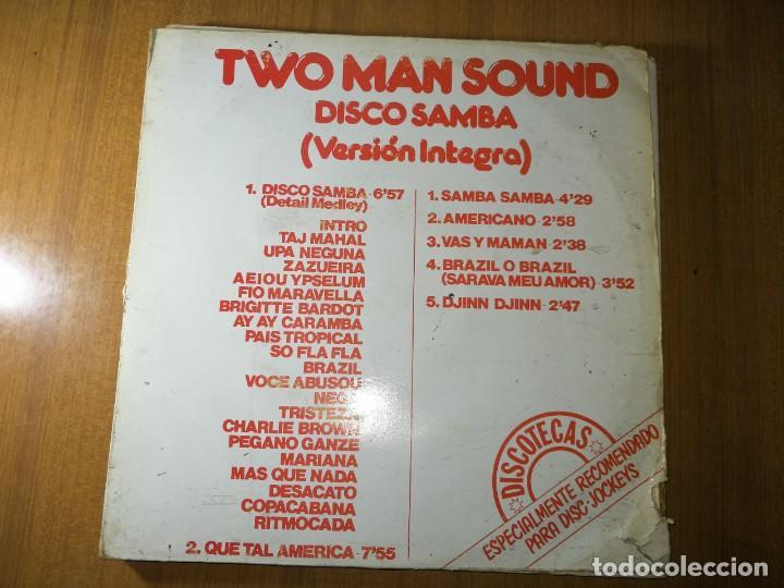 LOTE DE 5 DISCOS VINILO. MÚSICA DISCO/DANCE. TWO MAN SOUND. VER RESTO. VER FOTOS. (Música - Discos de Vinilo - Maxi Singles - Rap / Hip Hop)