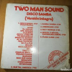 Discos de vinilo: LOTE DE 5 DISCOS VINILO. MÚSICA DISCO/DANCE. TWO MAN SOUND. VER RESTO. VER FOTOS.. Lote 236214100