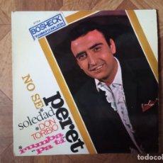 Discos de vinilo: PERET - NO SÉ + 3 - EP 1966 - CARPETA VG+ VINILO VG+. Lote 236218245