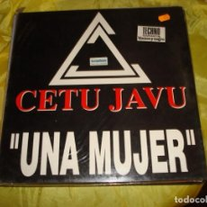 Discos de vinilo: CETU JAVU. UNA MUJER. MAXI-SINGLE. EDIC. ESPAÑOLA, 1993. (#). Lote 236218915