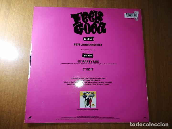 Discos de vinilo: Disco vinilo TONY TONÉ- FEELS GOOD.1990. Ver fotos. - Foto 3 - 236220160