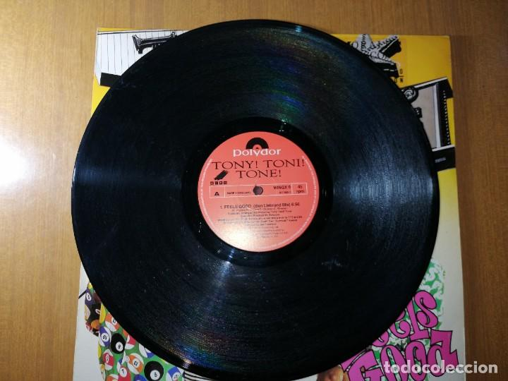 Discos de vinilo: Disco vinilo TONY TONÉ- FEELS GOOD.1990. Ver fotos. - Foto 4 - 236220160