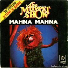 Discos de vinilo: THE MUPPETS (TELEÑECOS) - MAHNA MAHNA - SG SPAIN 1977 - PYE RECORDS P-1050. Lote 236221225