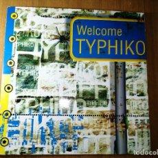 Discos de vinilo: DISCO VINILO MUSICA ELECTRÓNICA, 1996. WELCOME TYPHIKO. VER FOTOS.. Lote 236222115