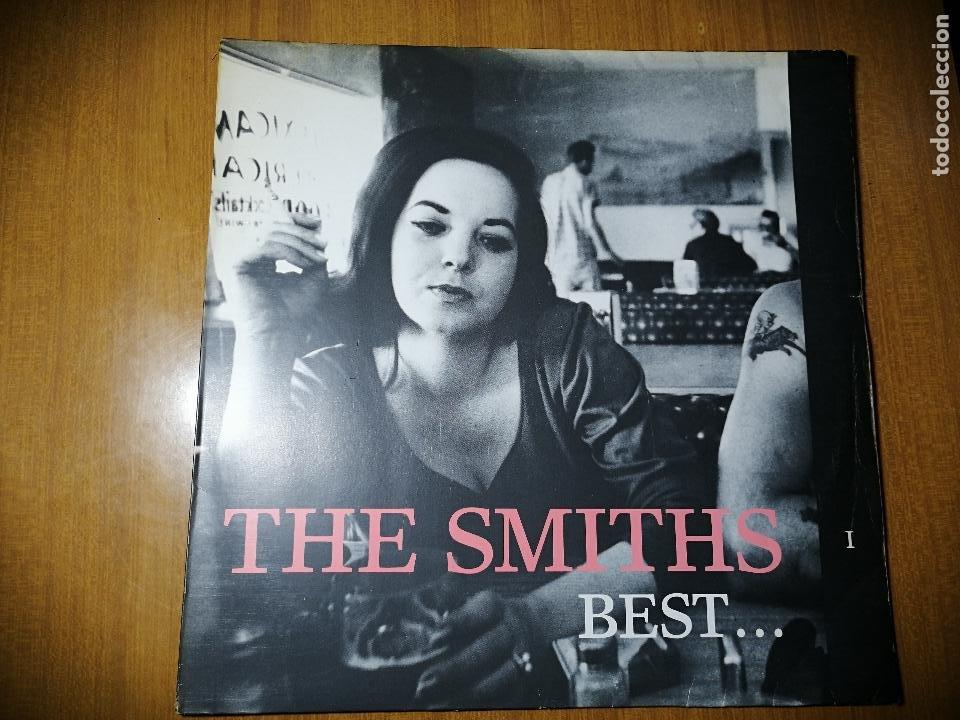 DISCO DE VINILO GRUPO THE SMITHS- BEST...I.1992. VER FOTOS. (Música - Discos - LP Vinilo - Pop - Rock Extranjero de los 90 a la actualidad)