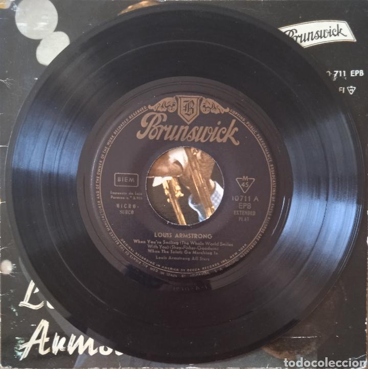 Discos de vinilo: EP Louis Armstrong - Foto 3 - 236227560