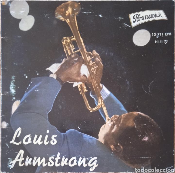 EP LOUIS ARMSTRONG (Música - Discos de Vinilo - EPs - Jazz, Jazz-Rock, Blues y R&B)