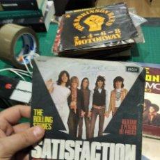 Discos de vinilo: SINGLE THE ROLLING STONES SATISFACTION. Lote 236227690
