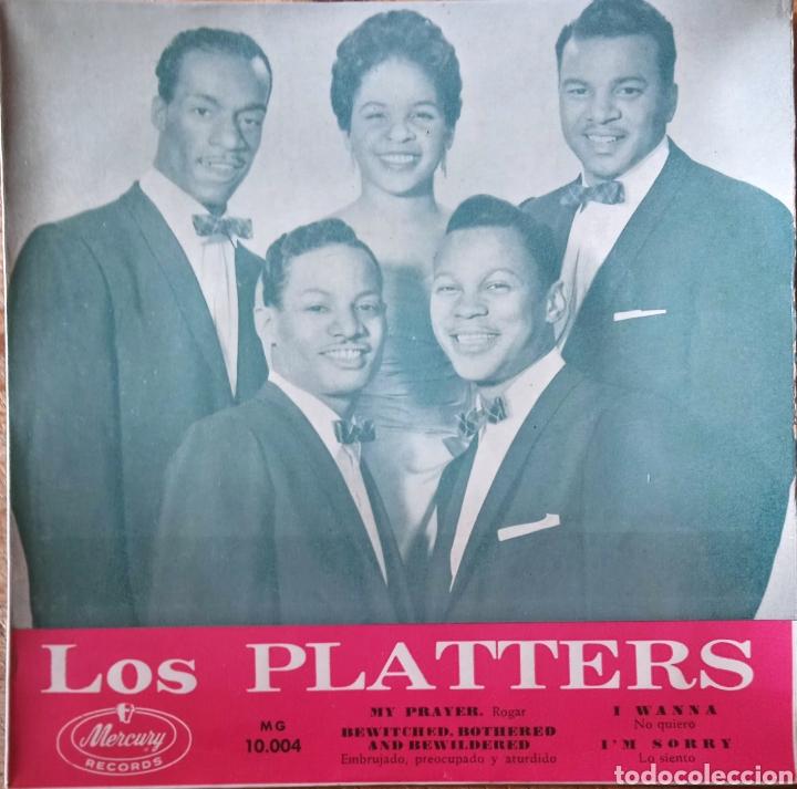 EP THE PLATTERS (Música - Discos de Vinilo - EPs - Funk, Soul y Black Music)
