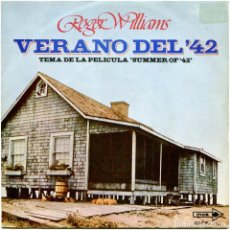 Discos de vinilo: ROGER WILLIAMS - VERANO DEL '42 - SG SPAIN 1972 - MCA RECORDS ‎- MICHEL LEGRAND / ELTON JOHN. Lote 236239715