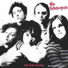 Discos de vinilo: THE TELESCOPES EARLY STUDIO RECORDINGS (LP) . RECOPILACIÓN VINILO SHOEGAZE. Lote 236242690