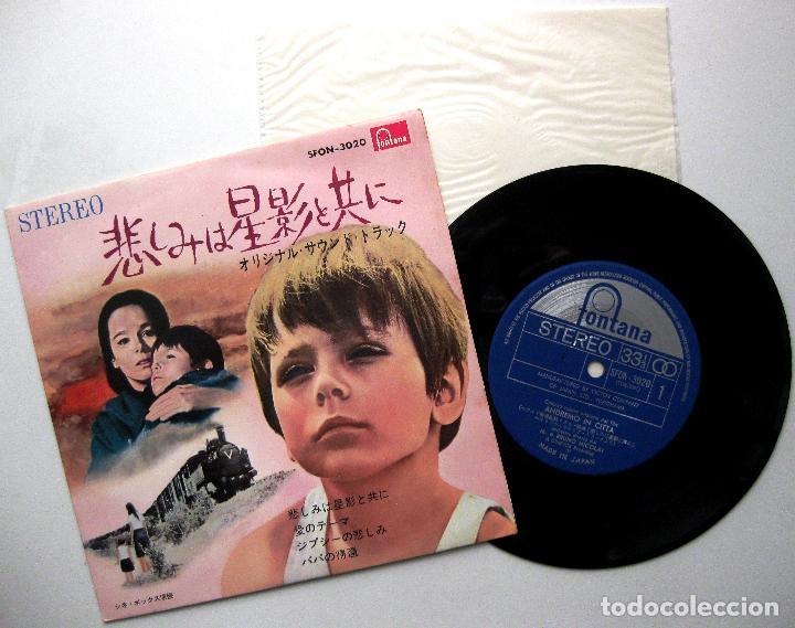 BRUNO NICOLAI E LA SUA ORCHESTRA - ANDREMO IN CITTA (IREMOS A LA CIUDAD) - EP FONTANA 1966 JAPAN BPY (Música - Discos de Vinilo - EPs - Bandas Sonoras y Actores)