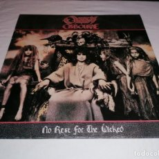 Discos de vinilo: DISCO VINILO LP OZZY OSBOURNE NO REST FOR THE WICKED. Lote 236245245