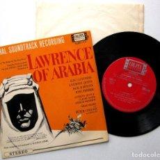 Discos de vinilo: MAURICE JARRE - LAWRENCE OF ARABIA - EP COLPIX RECORDS 1963 JAPAN (EDICIÓN JAPONESA) BPY. Lote 236248825